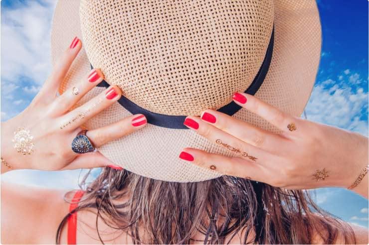 manicure estiva