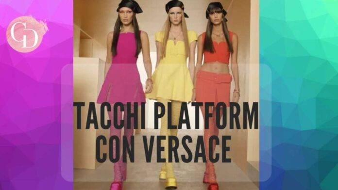 Versace tacchi platform