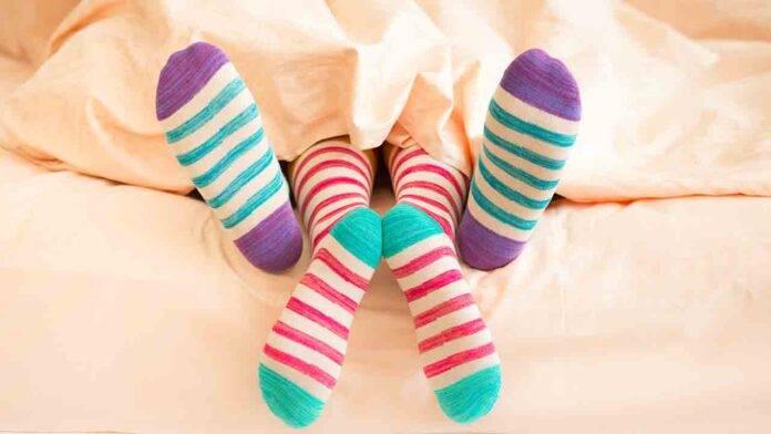 calzini intimità coppia