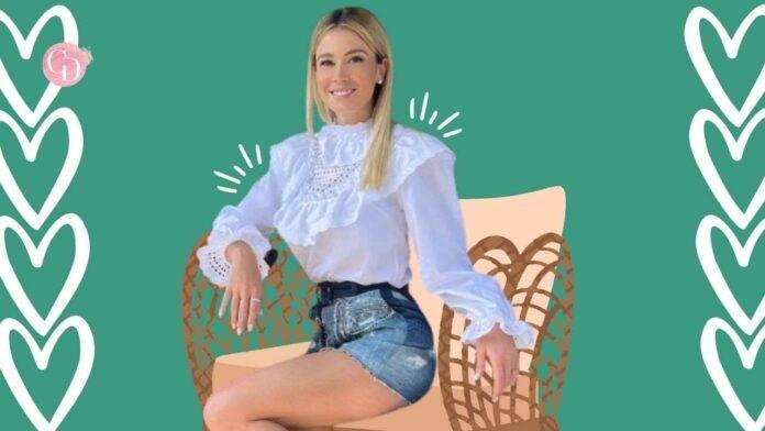 camicia pizzo bianco diletta leotta