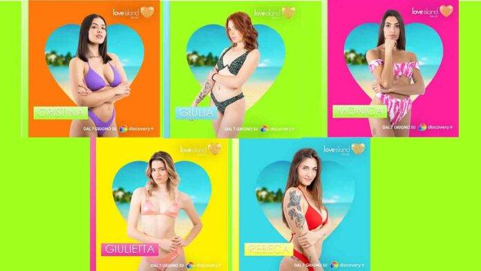 love island ragazze