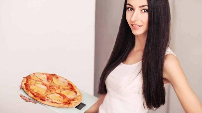 donna pizza bilancia