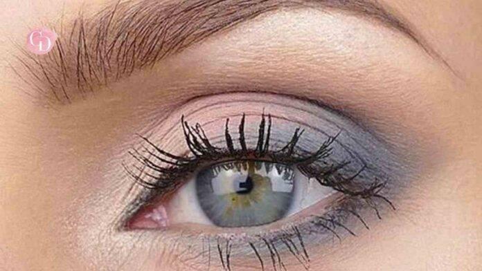 trucco occhi grigi