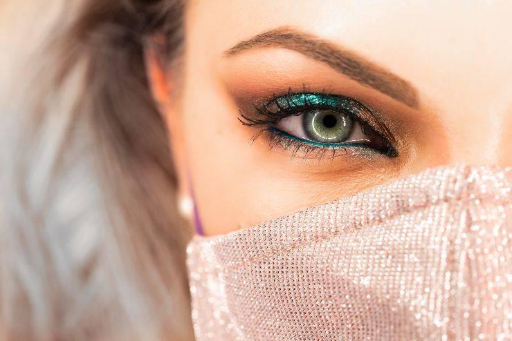 makeup mascherina