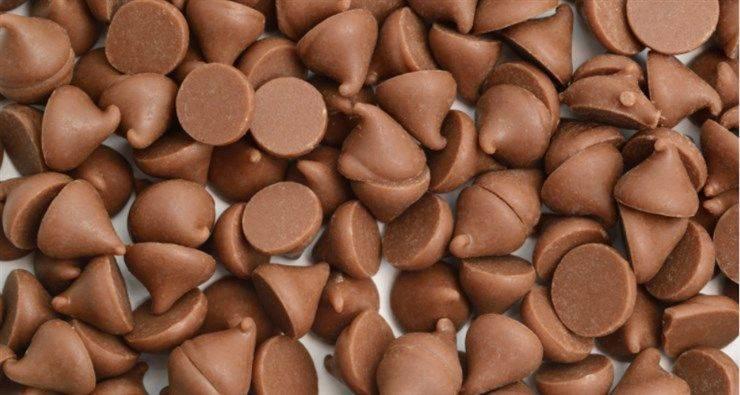 non far affondare gocce di cioccolato