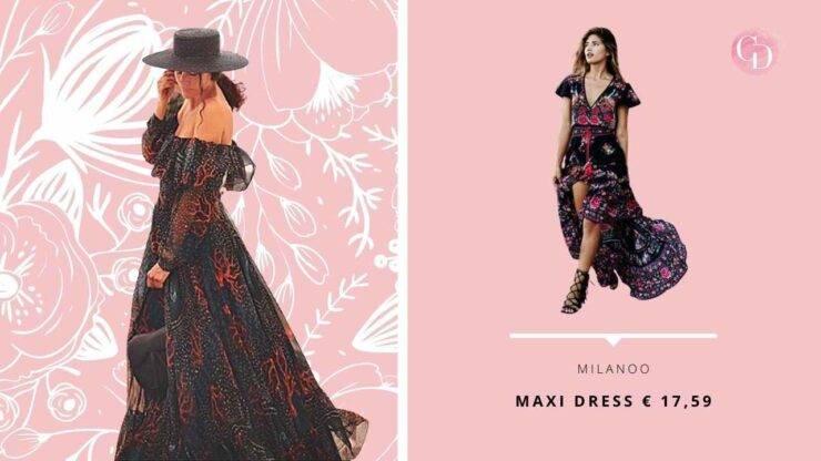 maxi dress paola turani