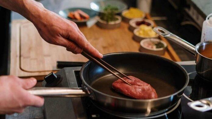 rosolare carne con il vino