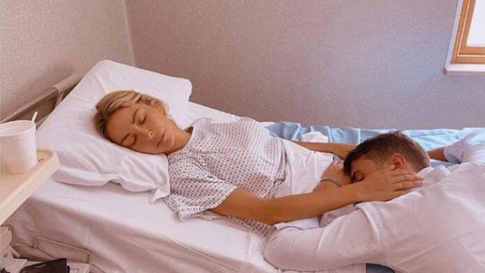 sabrina ghio e fidanzato in ospedale