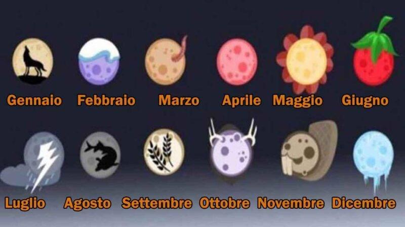 test delle lune