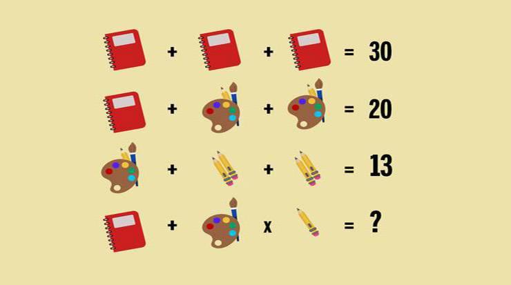 test enigma matematico