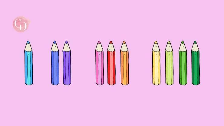 test d'intelligenza delle matite