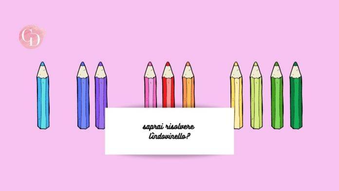 test delle matite