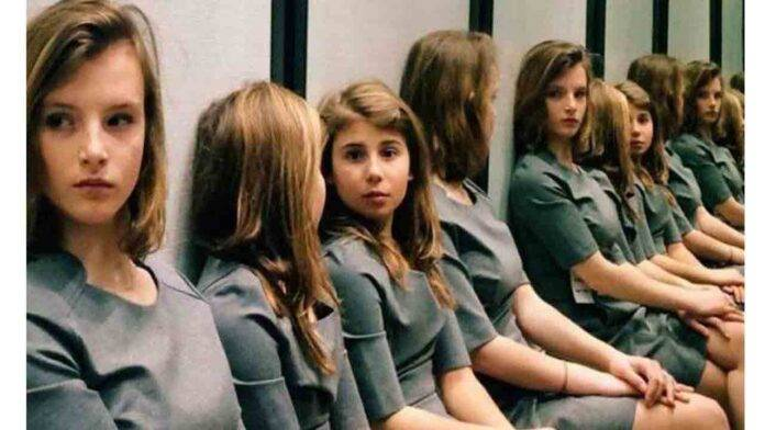test ragazze specchio