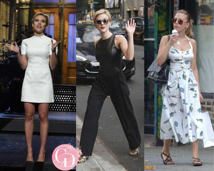 Scarlett Johansson street look outfit