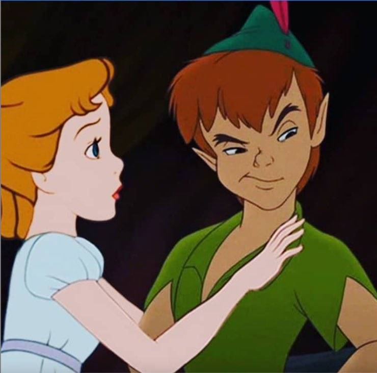 Wendy e Peter Pan