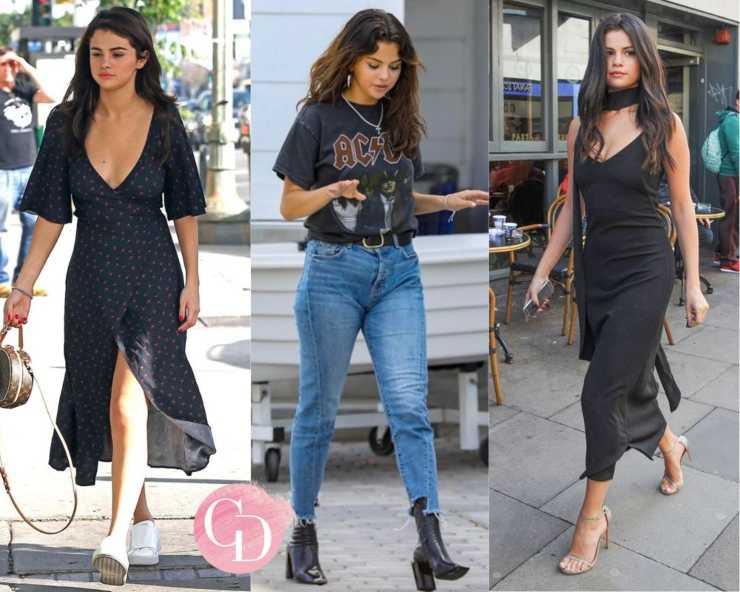 Selena Gomez street look