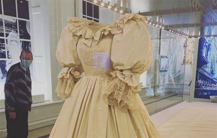 abito da sposa di lady diana