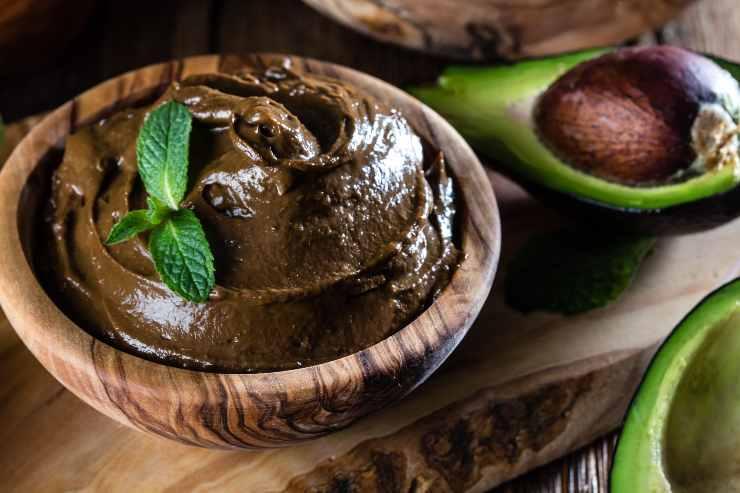 crema avocado e cacao