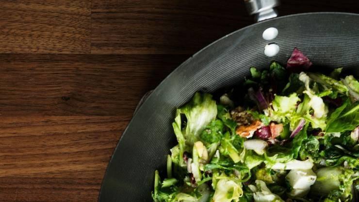 insalata in padella