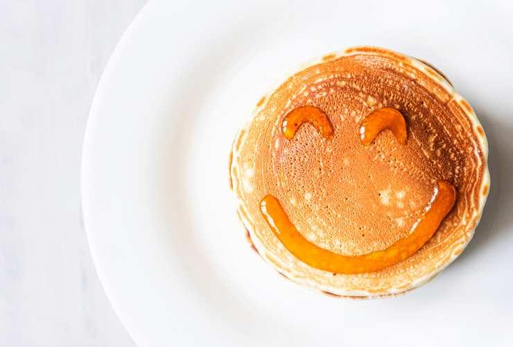 pancake che ride