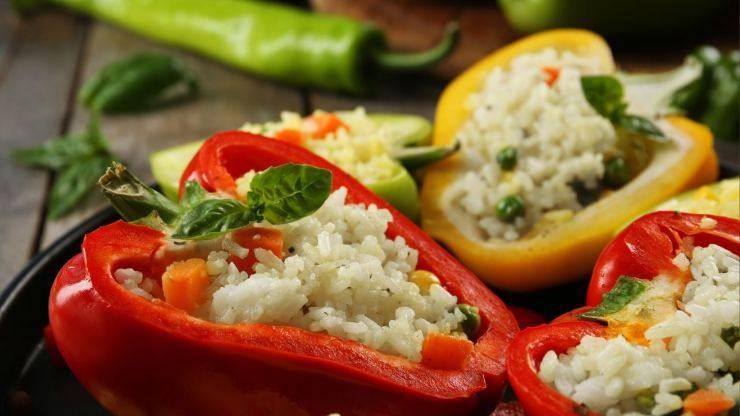 peperoni di riso