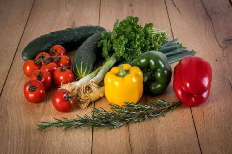 piadina con verdure