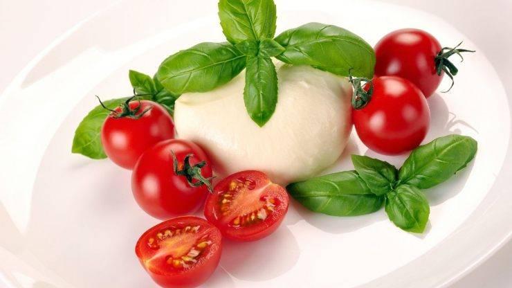 pomodori mozzarella