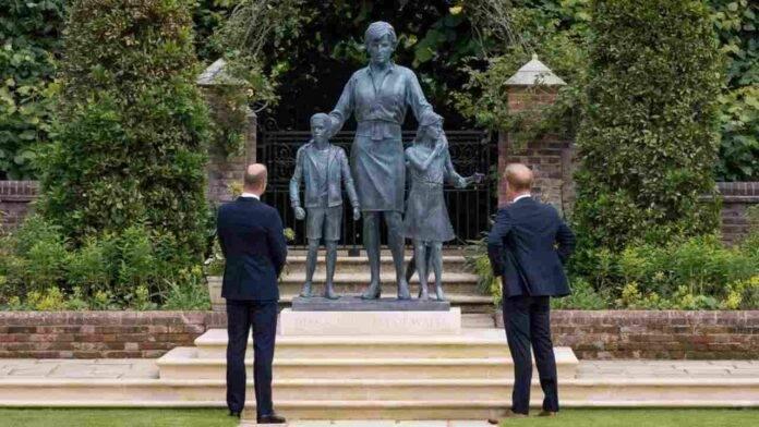 statua principessa diana