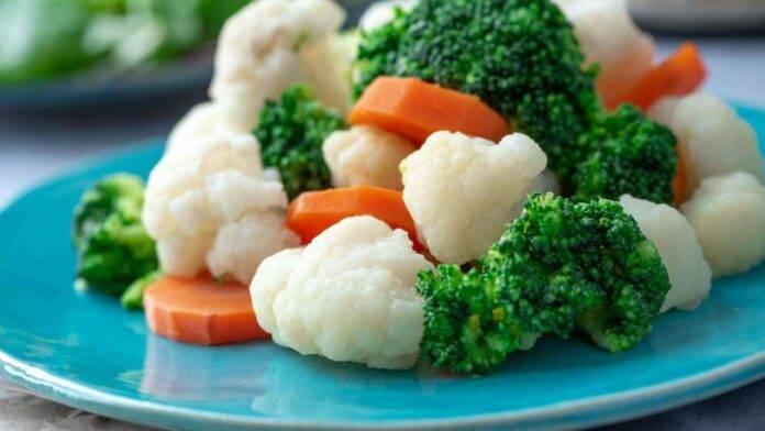 non far scolorire verdure