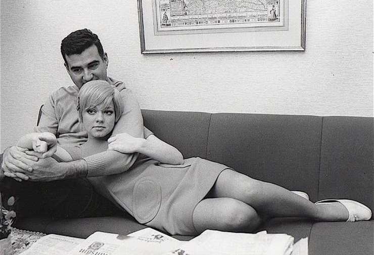 Rita Pavone e Teddy Reno da giovani