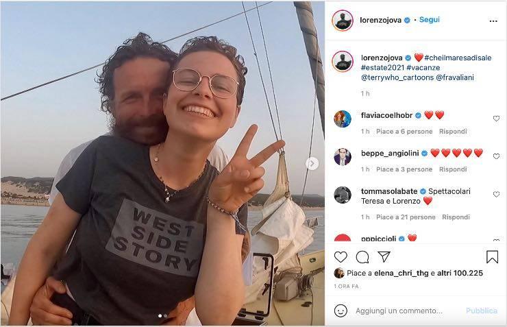 post Instagram Jovanotti