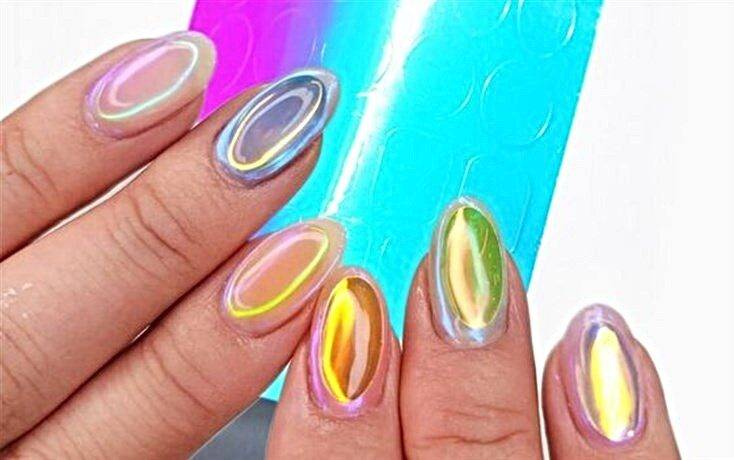 unghie aurora nail art