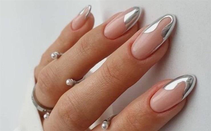 unghie argento 2021