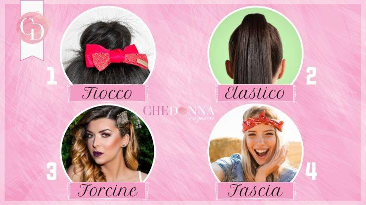 test accessori capelli
