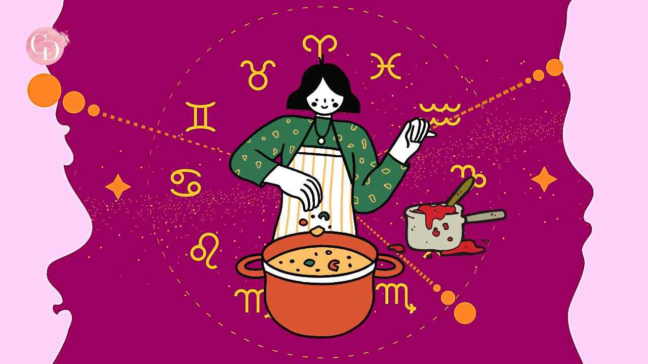 i segni zodiacali che non sanno cucinare