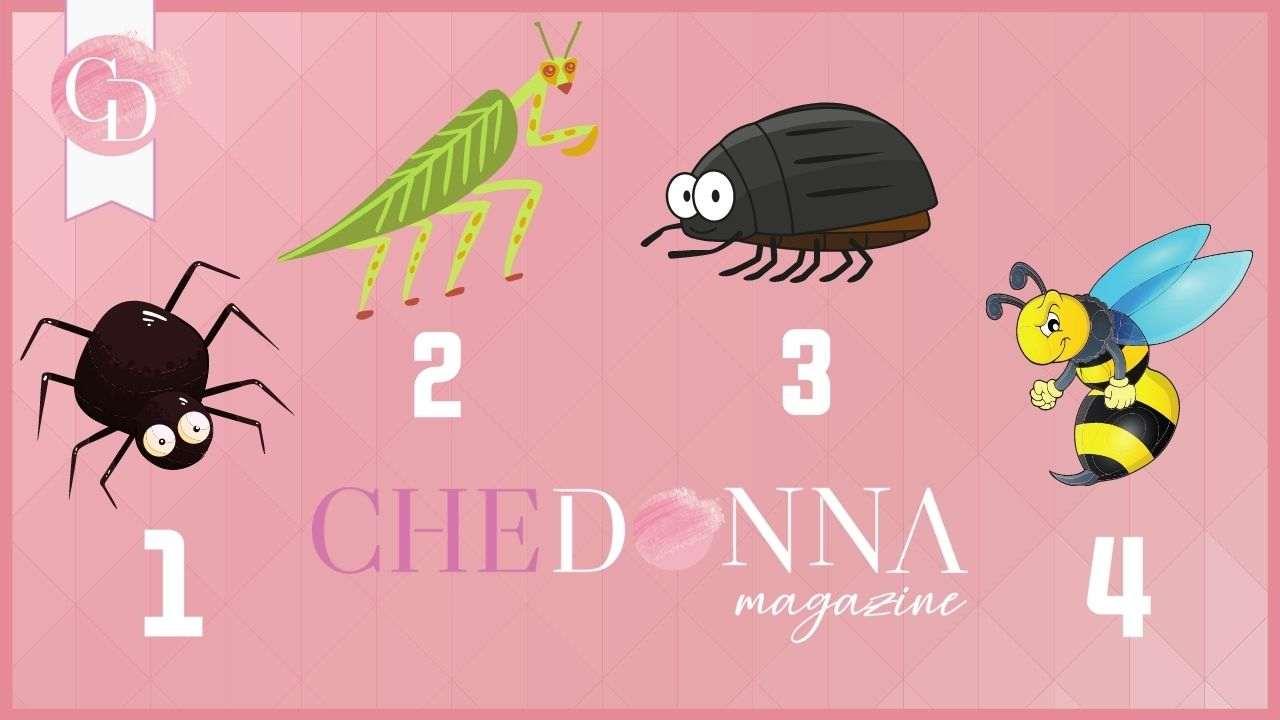 test paura insetti