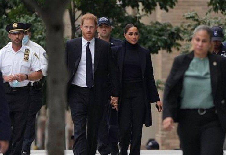 Harry e Meghan New York