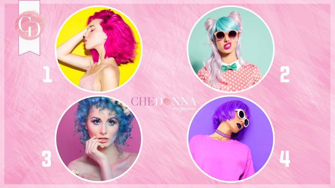 test colore dei capelli pazzia