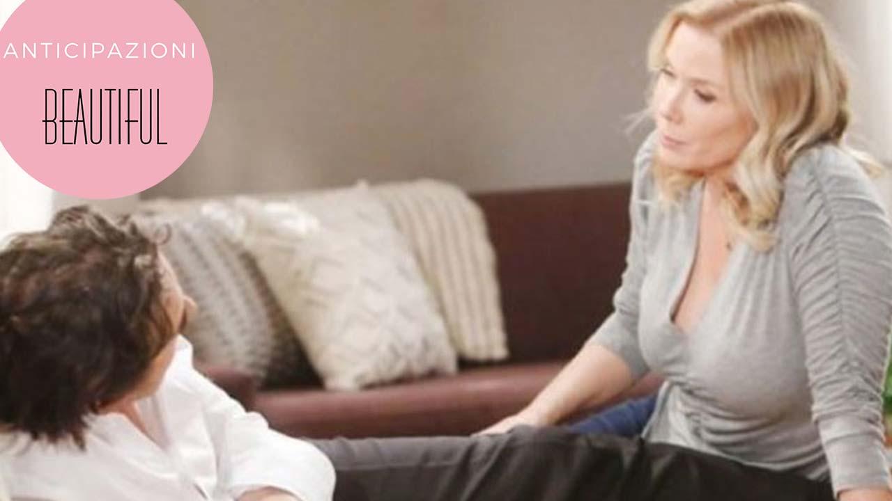 Beautiful Anticipazioni: clamoroso ritorno, per Brooke e Ridge cambia tutto