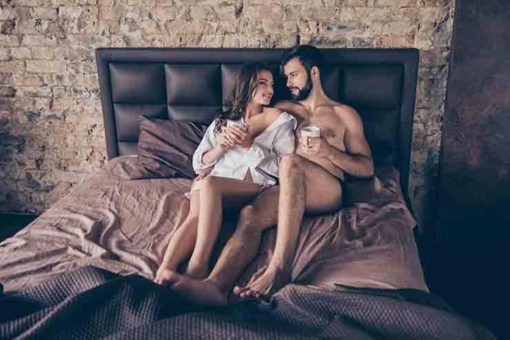 intimità benefici caffè