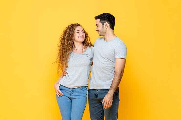importanza aspetto fisico coppia