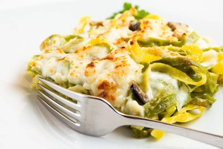 lasagne con panna