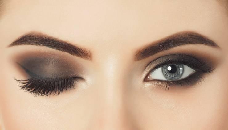 makeup occhi a lunga durata trucco occhi donna