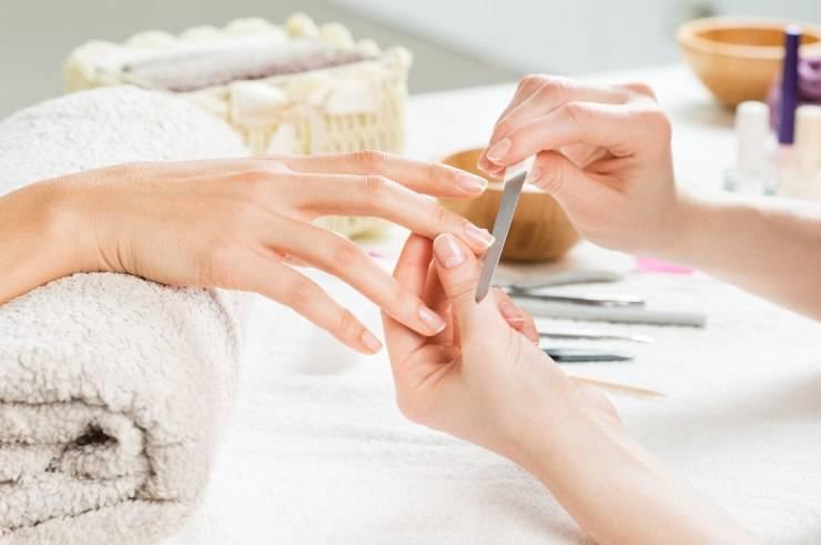 manicure da estetista