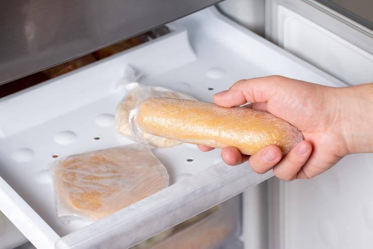 pane da congelare errori
