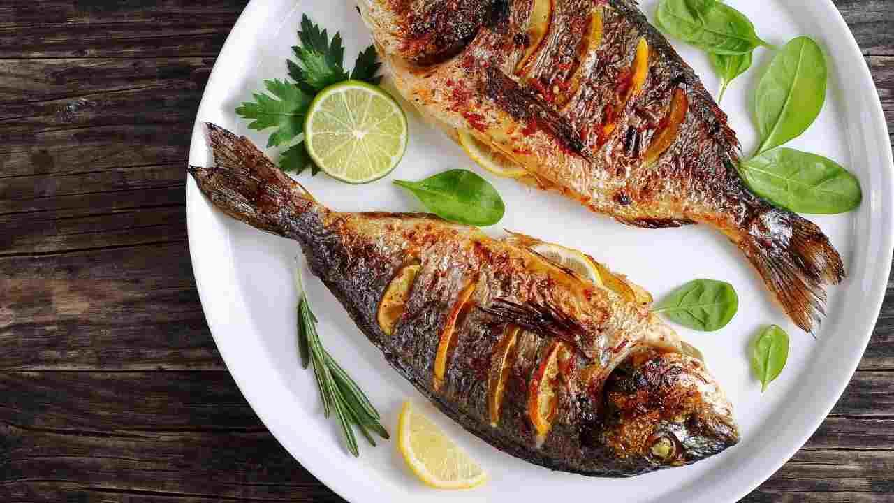 errori grigliata pesce