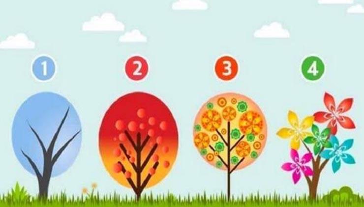 test personalità alberi emozioni