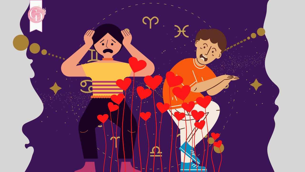 i segni zodiacali che hanno paura dell'amore