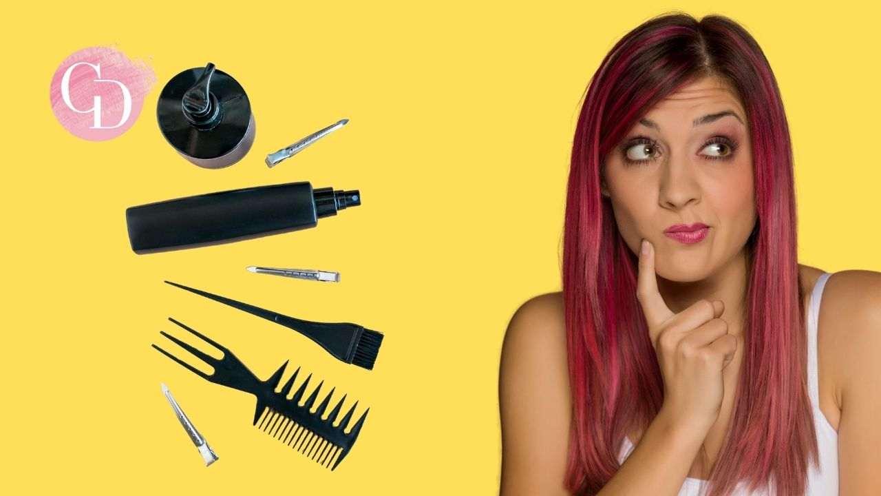 tornare al colore naturale capelli tinti ragazza con capelli rossi
