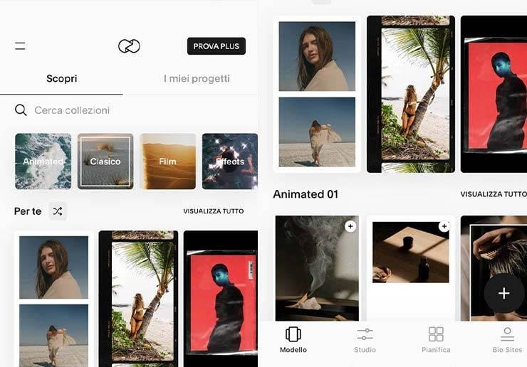 unfold app Instagram Stories